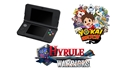 New Nintendo 3DS Black + YO-KAI WATCH + Hyrule Warriors (3DS)