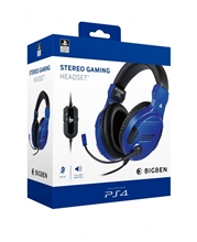 Big Ben Stereo Headset V3 - Blue (PS4)