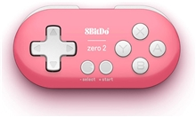 8 Bit Mini Wireless Controller Zero 2 Pink (Switch/PC/Android/Mac)