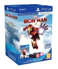 Marvels Iron Man PS VR + Sony PlayStation Move Twin Pack (PS4)