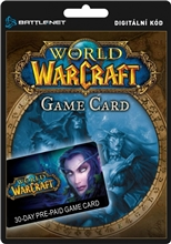 World of Warcraft - 30 Dní předplacená karta (PC)