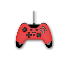 Gioteck WX4 Wired Red Controller (PS3/PC/SWITCH)