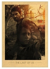 Plakát The Last of Us - Joel and Ellie with Bow