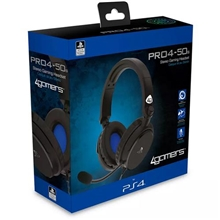 4Gamers Pro4-50 Officially Licensed Stereo Headset (Black) (PS4)