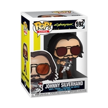Funko POP Games: Cyberpunk 2077 - Johnny Silverhand w/Gun
