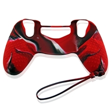 Colorful Silicone Case for Dualshock Controller (Red) (PS4)