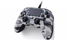 Nacon Wired Compact Controller – Camo Grey (PS4)