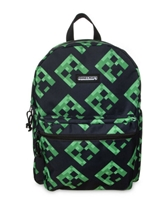 Minecraft Creepers backpack - black