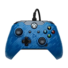 PDP Wired Controller pro Xbox One - Midnight Blue (X1)