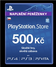 Sony PlayStation - Network Card 500CZK