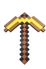 Minecraft foam gold pickaxe