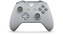 Xbox One Wireless Controller (Grey/Green) (X1)