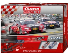 Carrera D143 40035 DTM Flash By