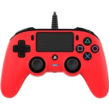 Nacon Wired Compact Controller Red (PS4)