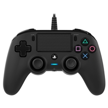 Nacon Wired Compact Controller Black (PS4)