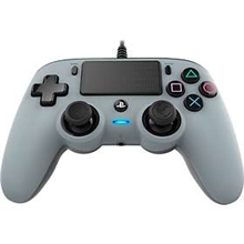 Nacon Wired Compact Controller Silver (PS4)