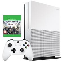 Xbox One S 500GB Bundle (Assassins Creed: Unity)