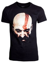 Tričko God of War - Kratos Face - XL