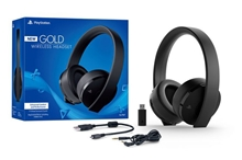 Sony PlayStation Gold Wireless Stereo Headset (PS4/PS3/PS Vita)