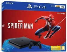 Sony Playstation 4 Slim 1TB + Marvels Spider-Man (PS4)