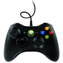 Wired Controller Black (X360)
