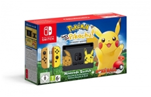 Konzole Nintendo Switch + Pokémon: Lets Go Pikachu + Poké Ball