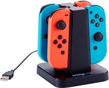 Big Ben Quad Charger: 4 Joy-Con Charging Stand (SWITCH)