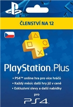 PlayStation Plus 365 Days CZ (PS3, PS4)