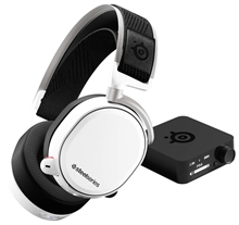 SteelSeries: Arctis Pro Wireless - Gaming Headset - White (PC/PS4)