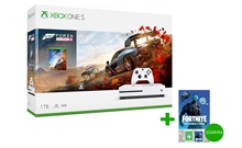 Xbox One S 1TB Bílá + Forza Horizon 4 + Fortnite pack (X1)