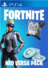 Fortnite Neo Versa Pack + 2000 V-Bucks (PS4)
